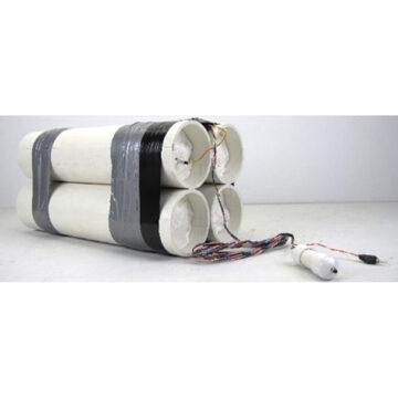 VBIED Training Kit #3 - 4x Large Inert Pipe Bombs (C4)