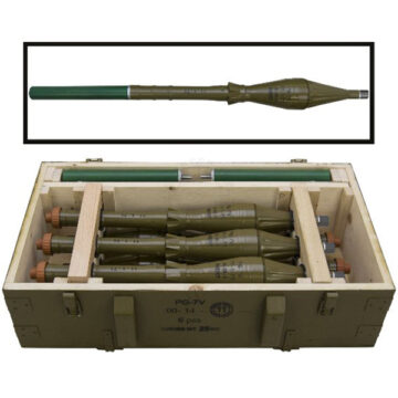 PG-7 Rockets Crate (with 6x Replica PG-7V Rockets)