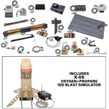 X-05 Squad Level Functional IED Kit with Oxygen+Propane IED Blast Simulator OTA-X05-TK01