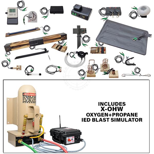 X-OHW Squad Level Functional IED Training Kit w Oxygen+Propane IED Blast Simulator OTA-X0HW-TK01