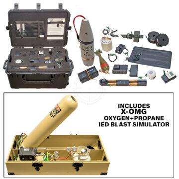 X-OMG Platoon Level Functional IED Kit with Oxygen+Propane IED Blast Simulator OTA-XOMG-TK02.tif