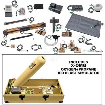 X-OMG Squad Level Functional IED Kit with Oxygen+Propane IED Blast Simulator OTA-XOMG-TK01