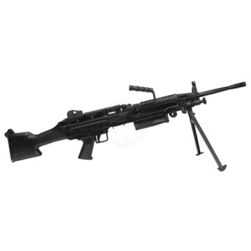 M249 SAW Light Machine Gun - Solid Dummy Replica