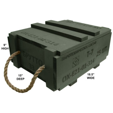 Point-Detonating Projectile Fuze Crate (Empty)