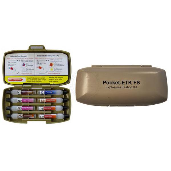 Pocket-ETK FS (Explosives Testing Kit) #108 - Case of 10
