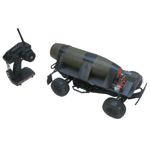 Remote Control Car IED (Functional w/ Siren) - Inert Replica Training Aid