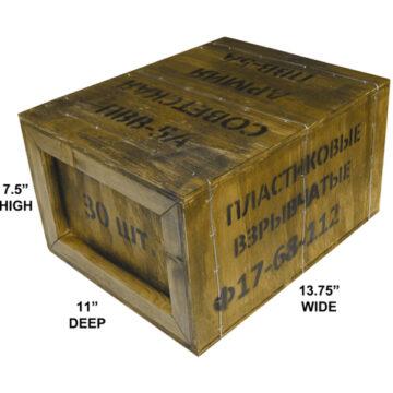 Semtex Demolition Blocks Crate (Empty)