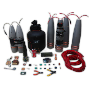Inert IED Petting Zoo - Small Training Kit