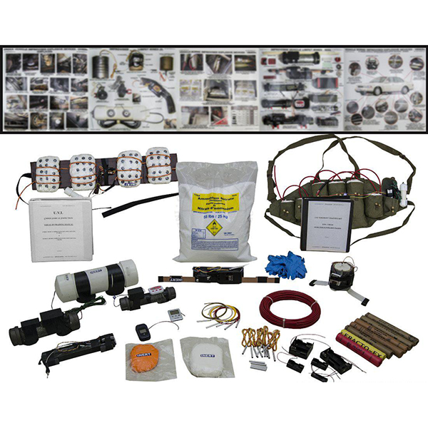 Under Vehicle IED (UVIED) Training Kit #1 - Inert Training Aids