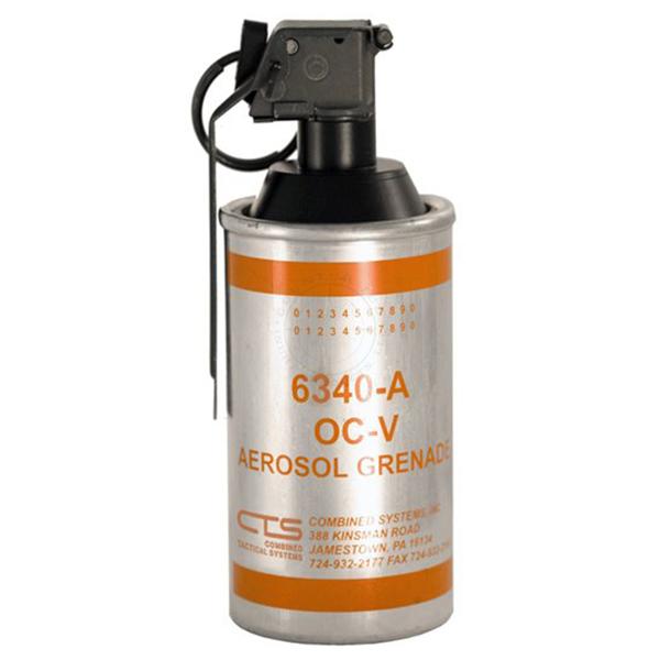 OC Vapor / Aerosol Less-Lethal Grenade - Inert Training Aid