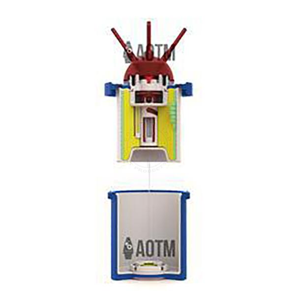 AOTM V-69 AP Bounding Mine Cutaway - Inert Classroom Training Aid