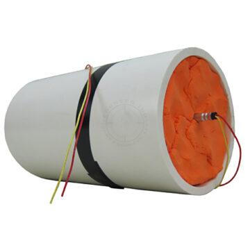 PVC Pipe Bomb, Large (Semtex H) - Inert Replica Training Aid