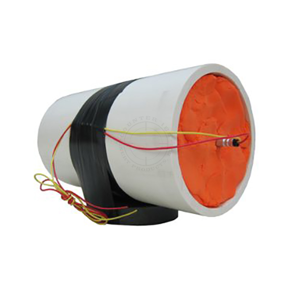 PVC Pipebomb UVIED, Large (Semtex H) - Inert Replica Training Aid