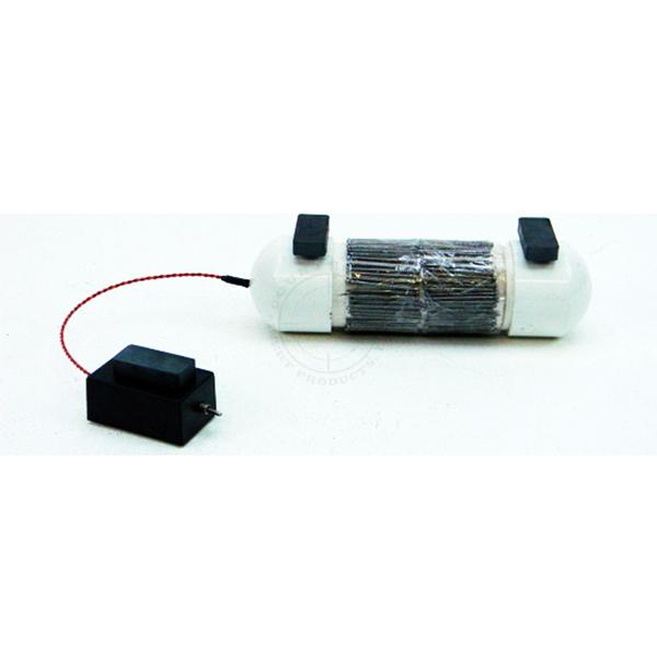 Medium PVC Pipe Bomb UVIED - Inert Replica Training Aid