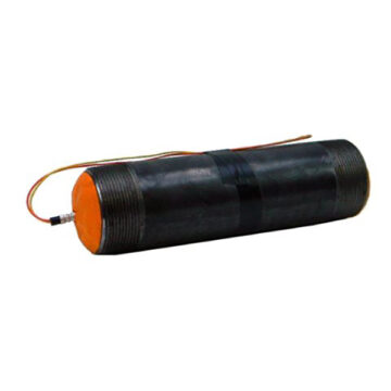 Medium Steel Pipe IED (Semtex H) - Inert Replica Training Aid