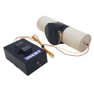 PVC Pipe Bomb UVIED, Large (C4) - Inert Replica OTA-6087