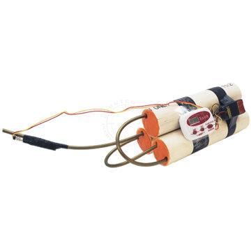 Triple PVC Pipe Bomb IED (Timed) - Inert Replica OTA-6132