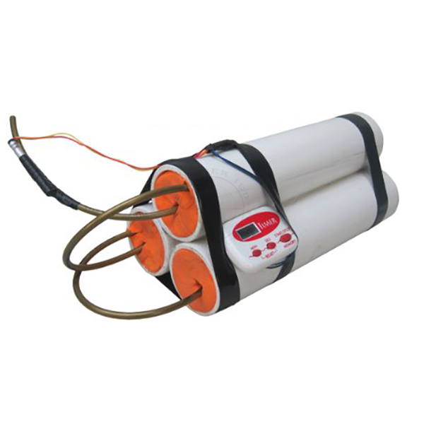 Triple PVC Pipe Bomb IED (Timed) - Inert Replica Training Aid