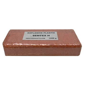 Semtex-H 1000g Demolition Block (Basic) - Inert Replica Training Aid