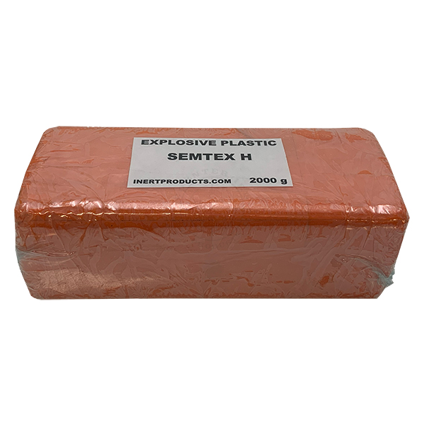 Semtex-H 2000g Demolition Block (Basic) - Inert Replica Training Aid