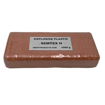 Semtex-H 1000g Demolition Block (Basic) - Inert Replica Training Aid OTA-055