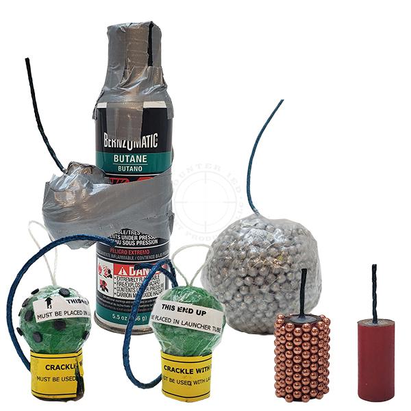 Domestic Riot Weapons Training Kit Modified Fireworks - Inert Replicas OTA-FWK01